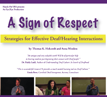 """A Sign of Respect"" DVD cover"