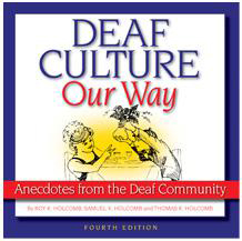 """Deaf Culture, Our Way"" book cover"